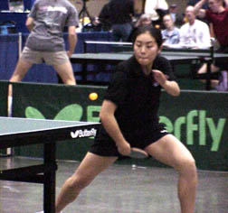 Michelle Do's Backhand Loop